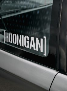 Hoonigan lipdukas automobiliui