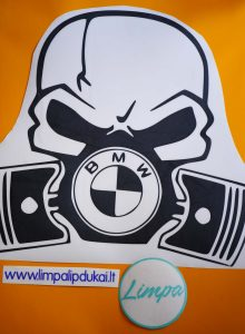 BMW lipdukas automobiliui