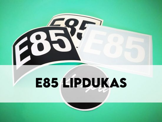 E85 lipdukas